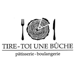 Artisan Bakeries Boulangerie Tire-toi une bûche Sainte-Brigide-d'Iberville local products hand made bakery logo