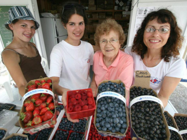 Marché de fruits et légumes Au Paradis des Fruits Dunham