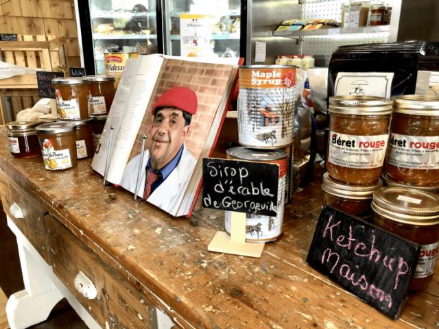 Alimentation autoceuillette Marché de fruits et/ou légumes Beret Rouge Magog, Stanstead Ketchup maison produits locaux achat local ulocal