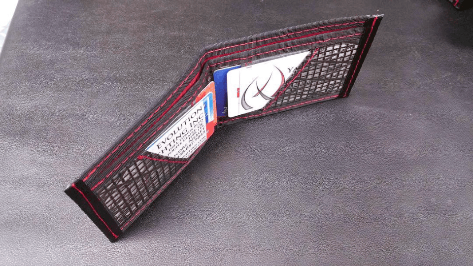 Evolution Yachting Inc. Pointe-Claire artisans wallet waterproof kevlar carbon dacron made in montreal local product