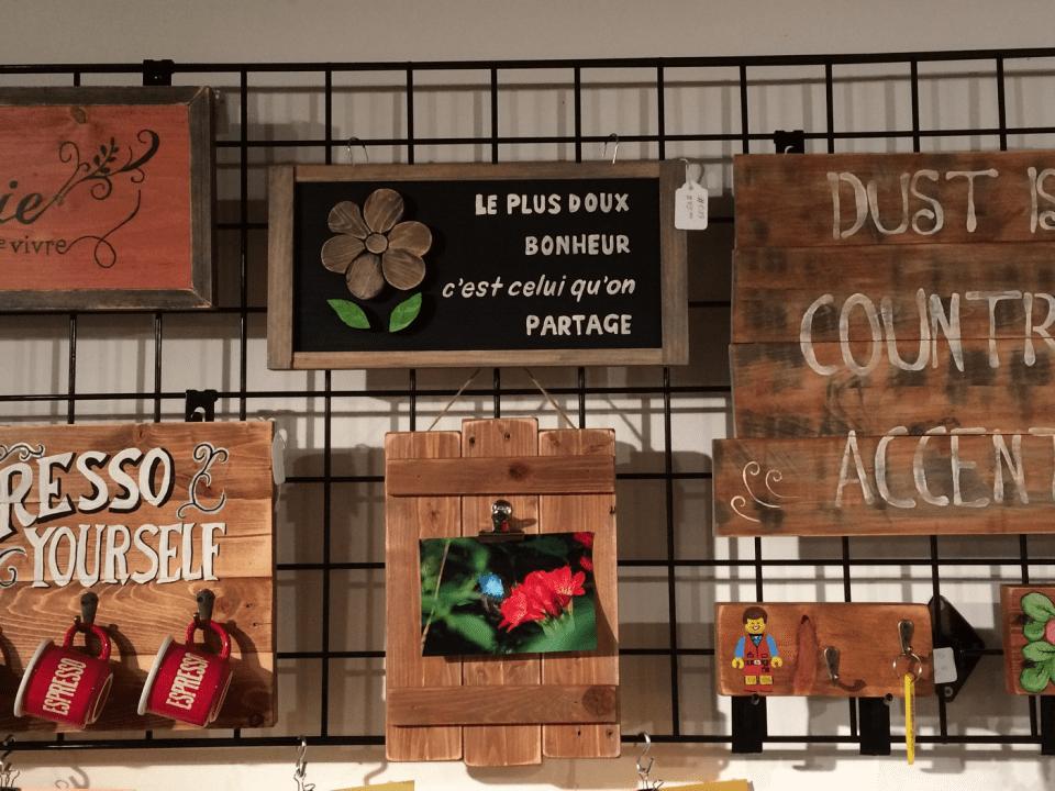 Boutique Marché des artisans Dunham