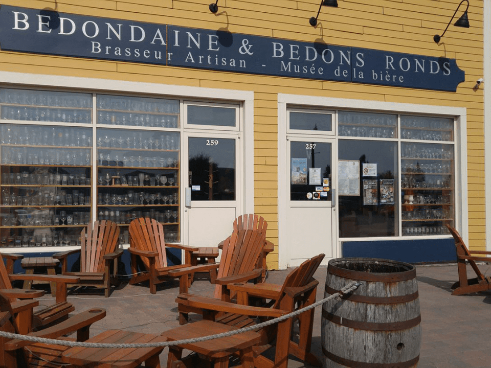 Microbrewery Bedondaine & Bedons Ronds Chambly Craft beer