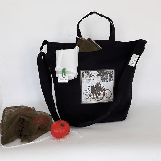 Artisans D'un sac à l'autre Saguenay sacs réutilisables.