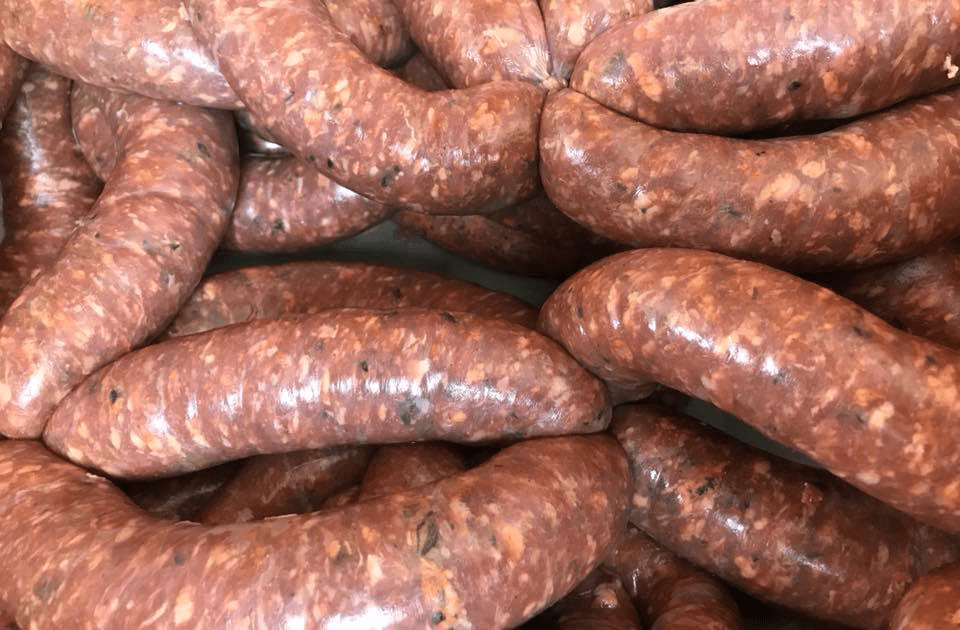 Earth's Harvest Farm Oxford Mills Sausages