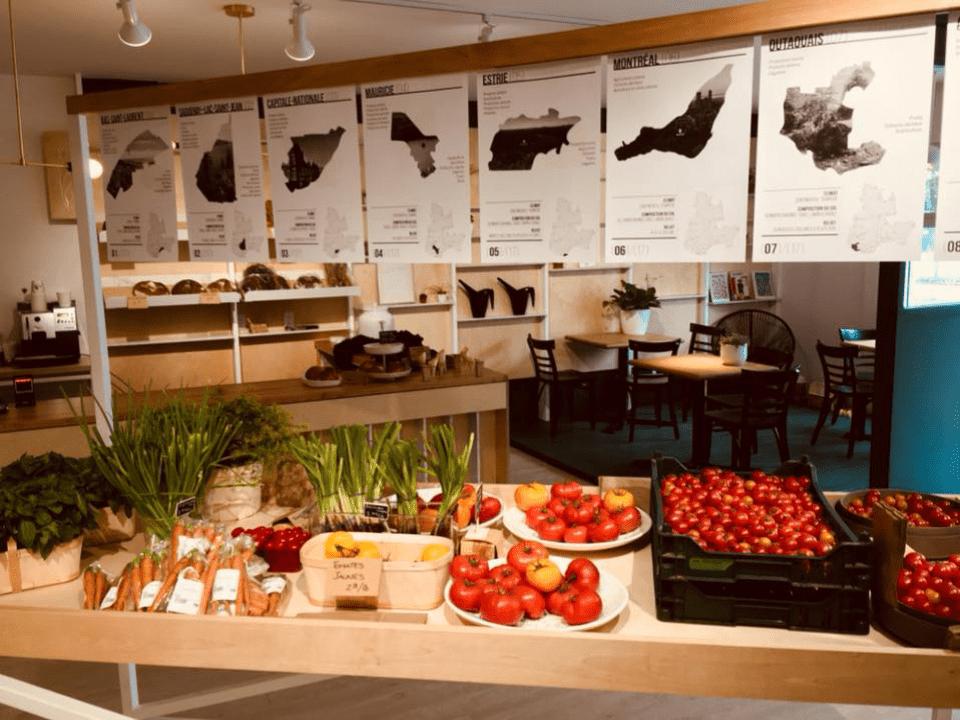 Grocery Store Épicerie les récoltes Montréal