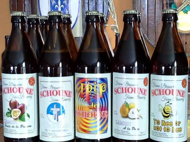 Microbrasserie Ferme Brasserie Schoune Saint-Polycarpe bière artisanale