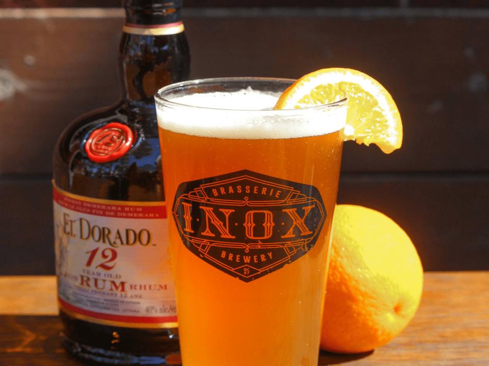 Microbrasserie L'Inox Québec Bière artisanale