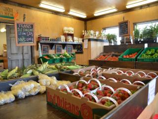 Kiosque de fruits et légumes