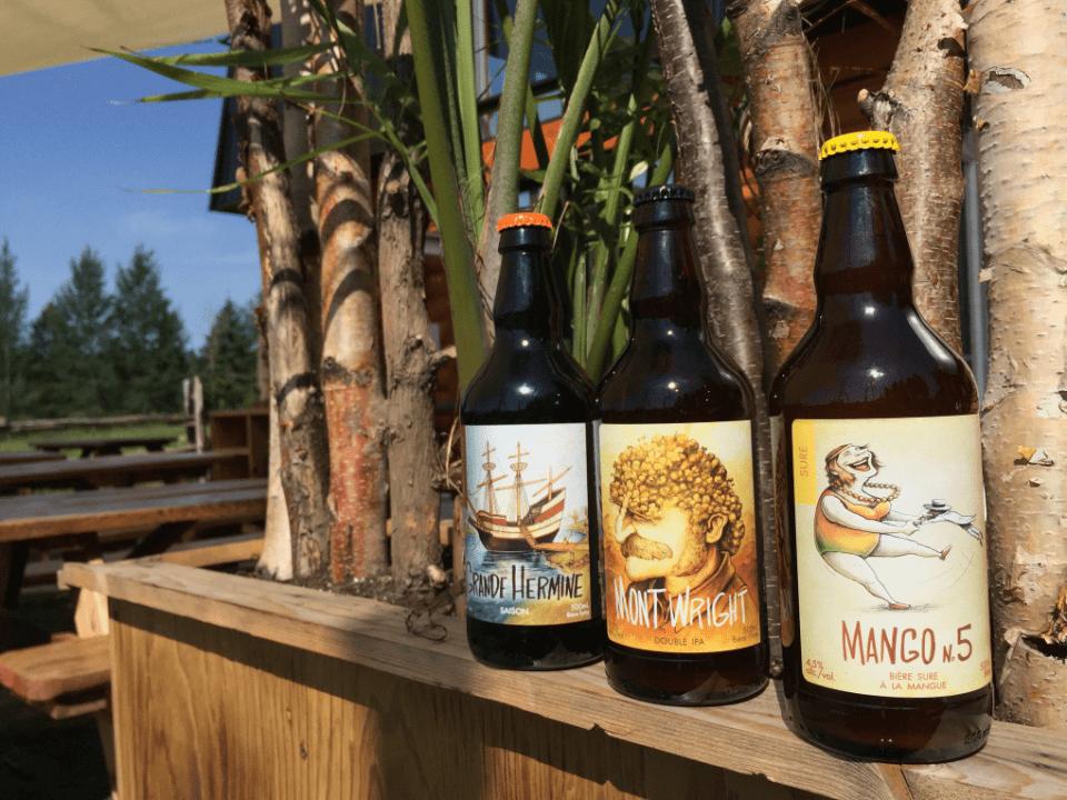 Microbrewery La Souche Limoilou Québec Craft beers