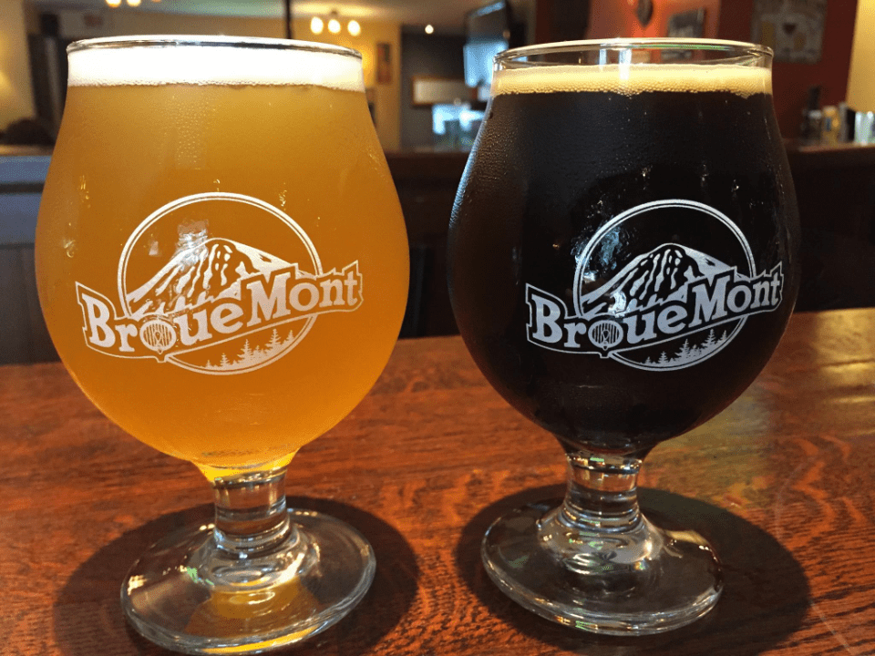 Microbrewery Le Brouemont Bromont Craft beer