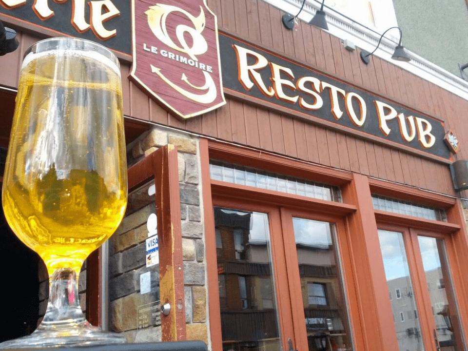 Microbrasserie Le Grimoire Granby Resto Pub