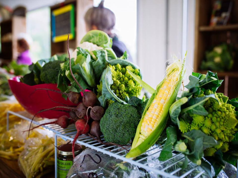 Le marché public de St-Gédéon de Grandmont Fruits et Légumes