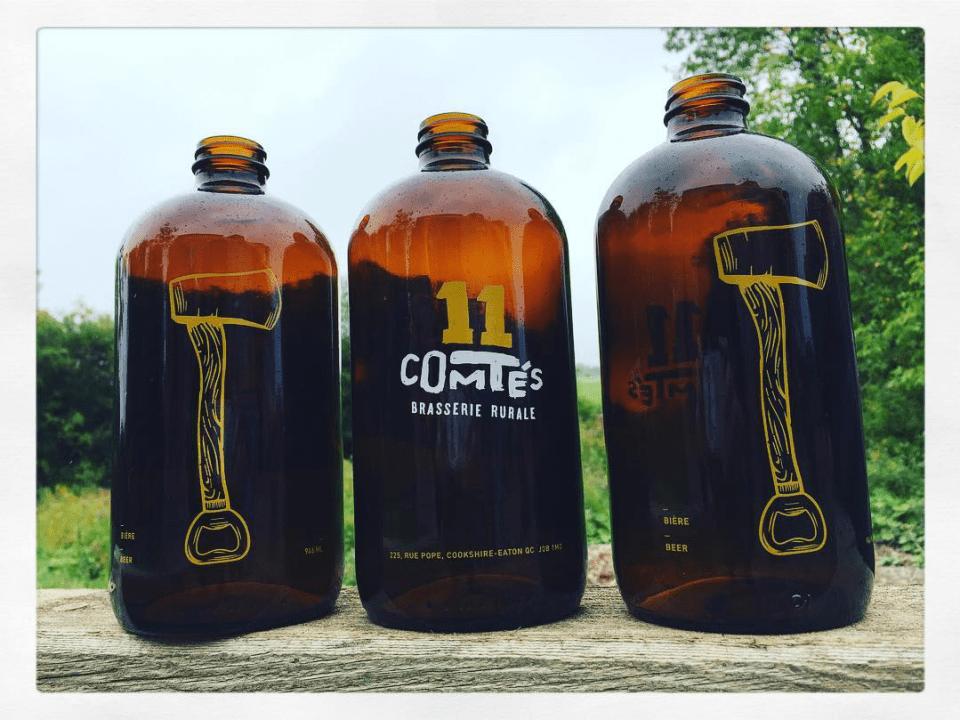 Microbrasserie 11 Comtés Cookshire-Eaton Bières artisanales
