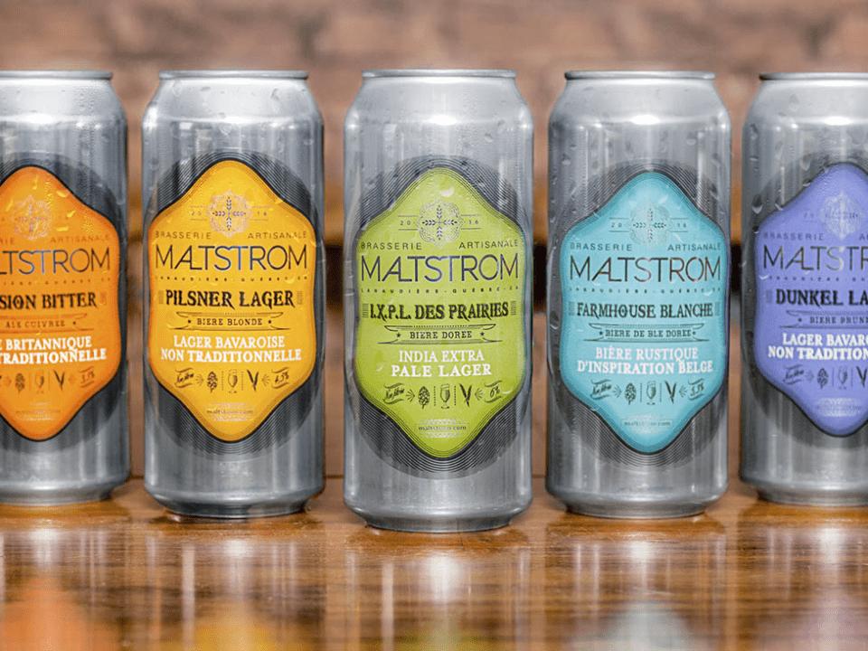 Microbrasserie Maltstrom Notre-Dame-des-Prairies Bières artisanales