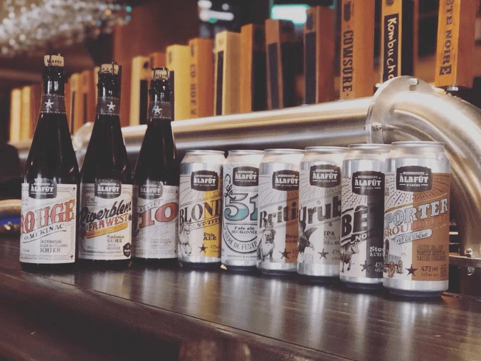 Microbrasserie À la Fût Saint-Tite Bières artisanales
