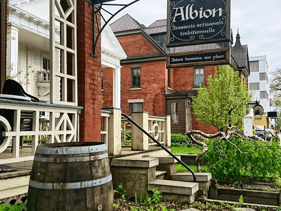 Microbrewery Brewery Albion Joliette