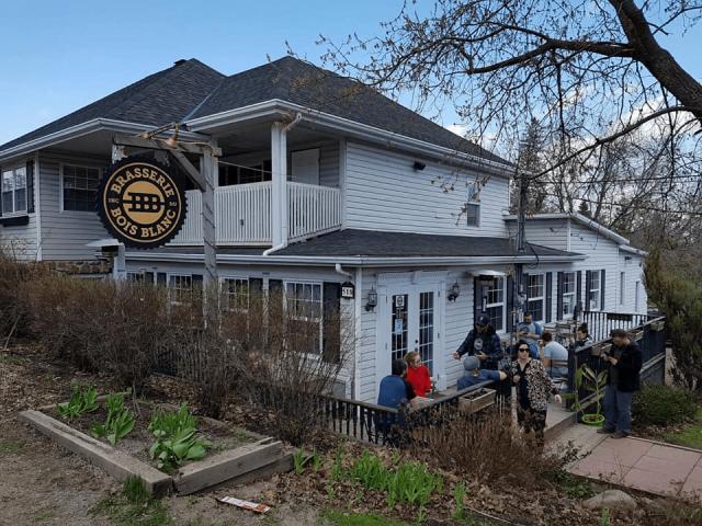 Microbrasserie Brasserie du Bois Blanc Hudson