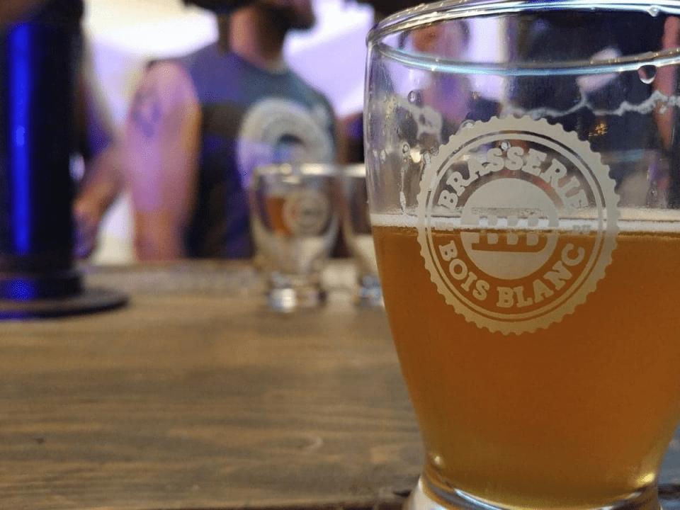Microbrasserie Brasserie du Bois Blanc Hudson Bières artisanales