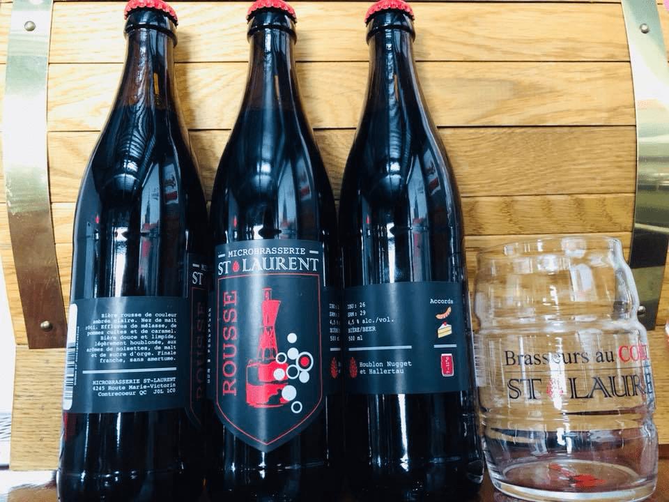 Microbrasserie Brasseurs au Coeur du Saint-Laurent Contrecoeur Bières artisanales