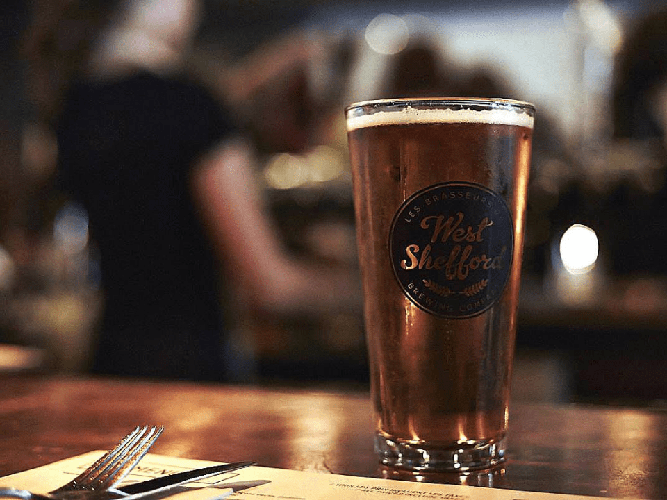Microbrasserie Les Brasseurs de West Shefford Bromont Bière artisanale