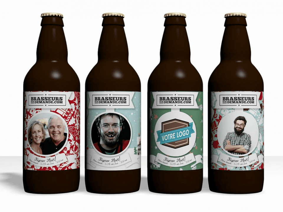 Microbrewery Brasseurs du Demande Québec Craft beer
