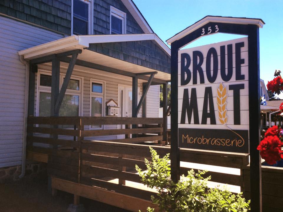 Microbrewery Brouemalt Saint-Donat-de-Montcalm Craft beer