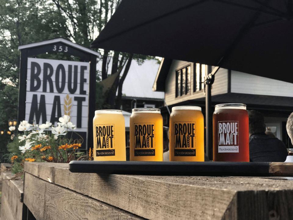 Microbrasserie Brouemalt Saint-Donat-de-Montcalm Bières artisanales