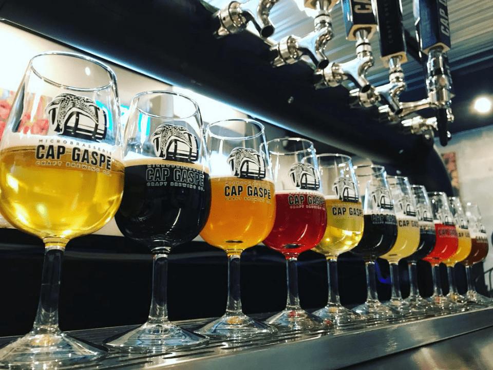 Microbrasserie Cap Gaspé à Gaspé Bières artisanales
