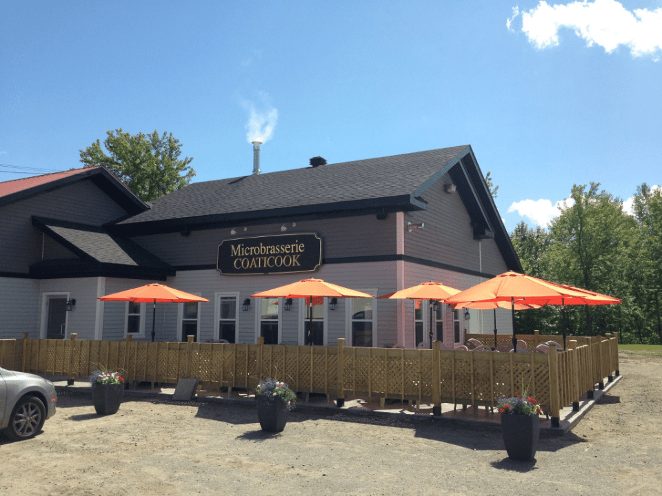 Microbrewery Coaticook Craft beer