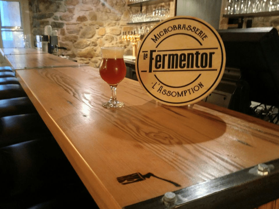 Microbrewery Le Fermentor L'Assomption Craft beers