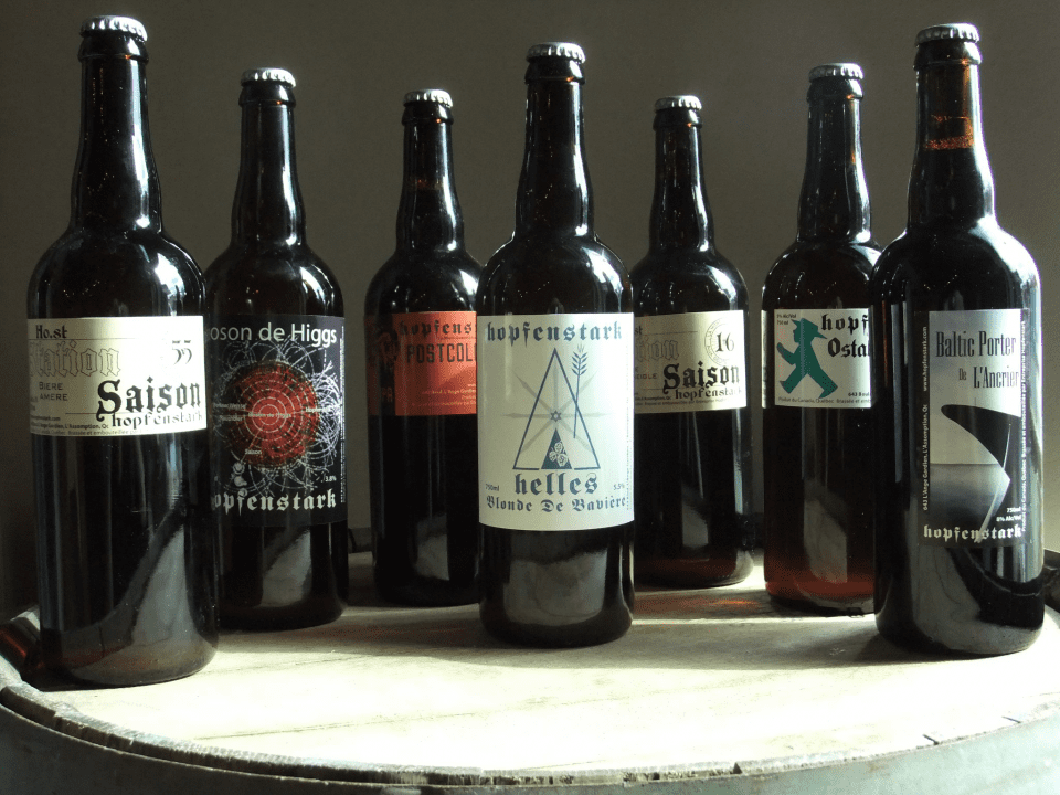 Microbrewery Hopfenstark Lavaltrie Craft beers