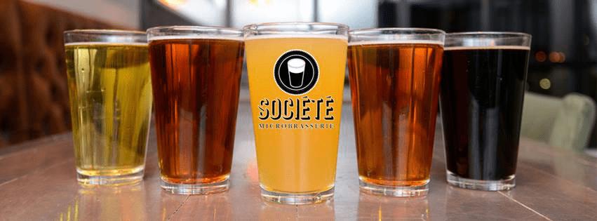 Microbrewery La Société Saint-Georges Craft beers