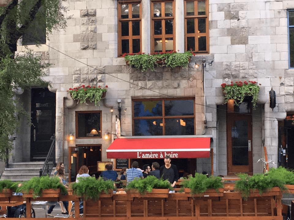 Microbrewery L'amère à boire Montréal