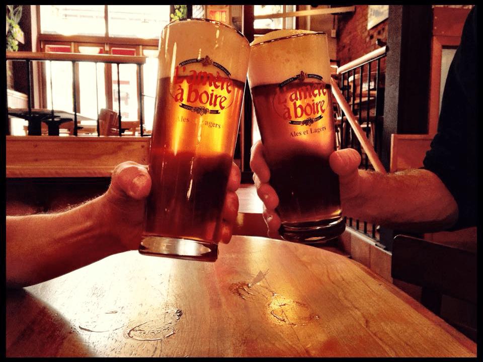 Microbrasserie L'amère à boire Montréal