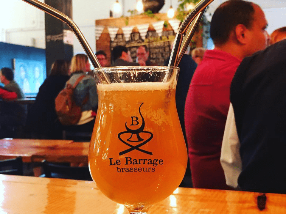 Microbrewery Le Barrage Brasseurs Longueuil