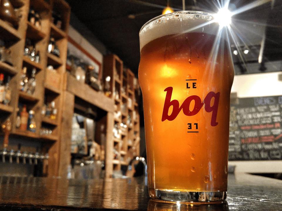 Microbrewery Boquébière Sherbrooke Craft beer