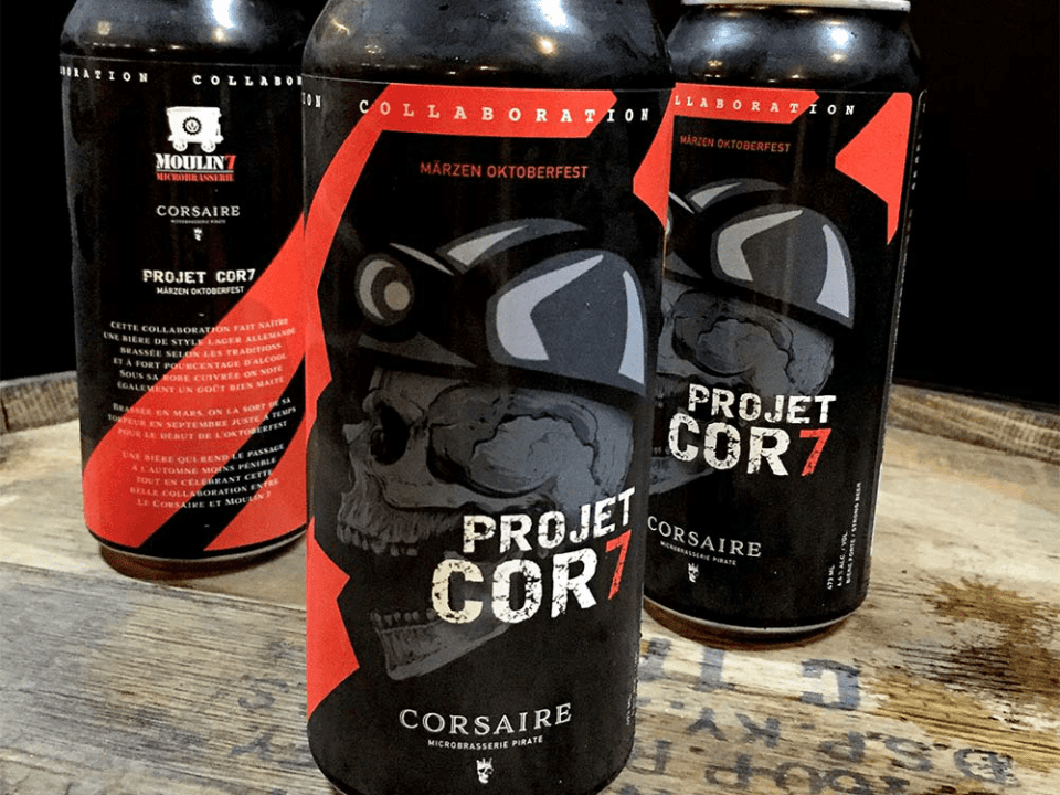 Microbrewery Le Corsaire Lévis Craft beers