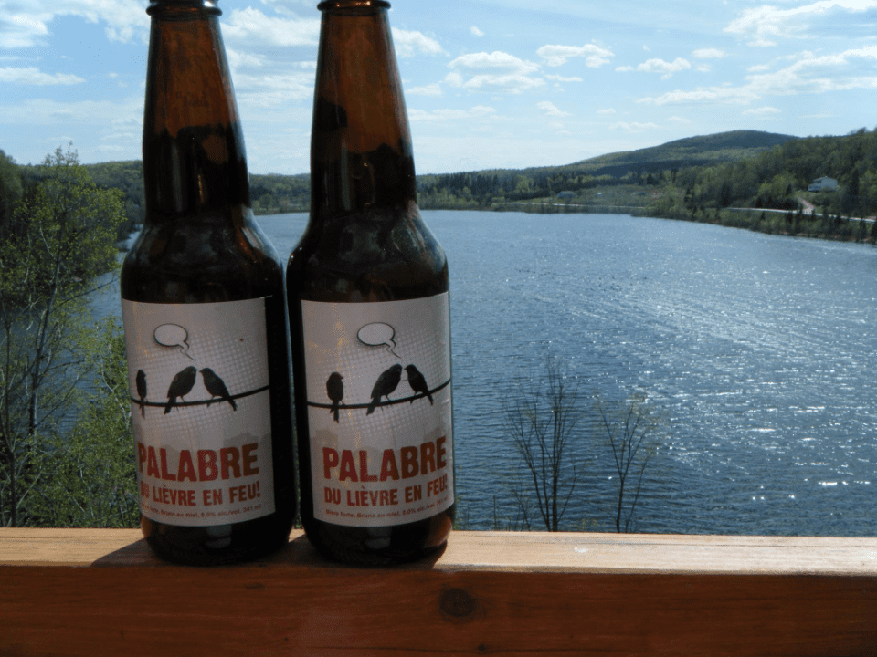 Microbrewery Le Lièvre Mont-Laurier Craft beer