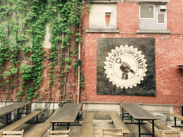 Microbrasserie Le Temps d'une Pinte Trois-Rivières Terrasse