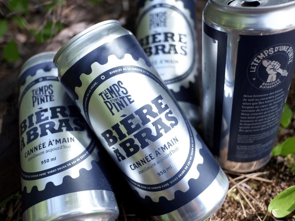 Microbrasserie Le Temps d'une Pinte Trois-Rivières Bières artisanales