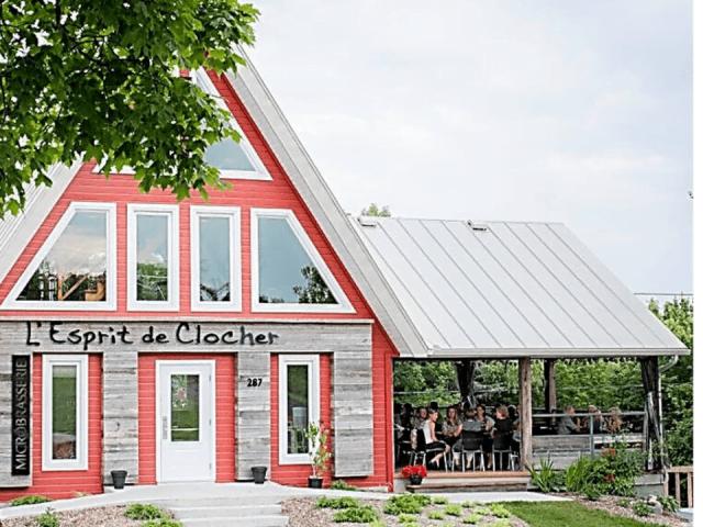Microbrasserie l'Esprit de Clocher Neuville Restaurant
