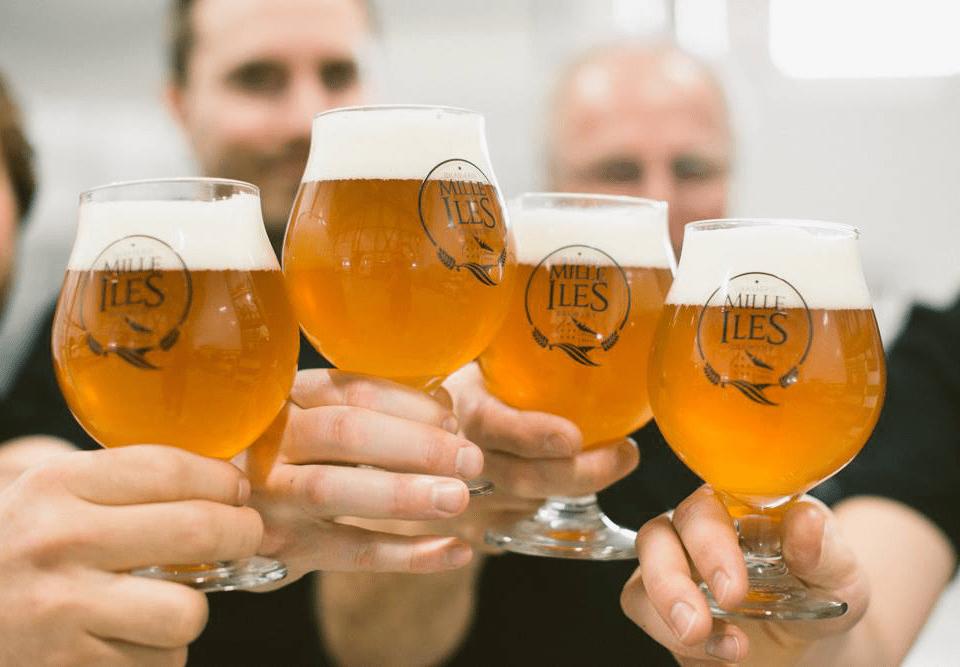 Microbrewery Brasserie Mille-Îles Terrebonne Craft beer