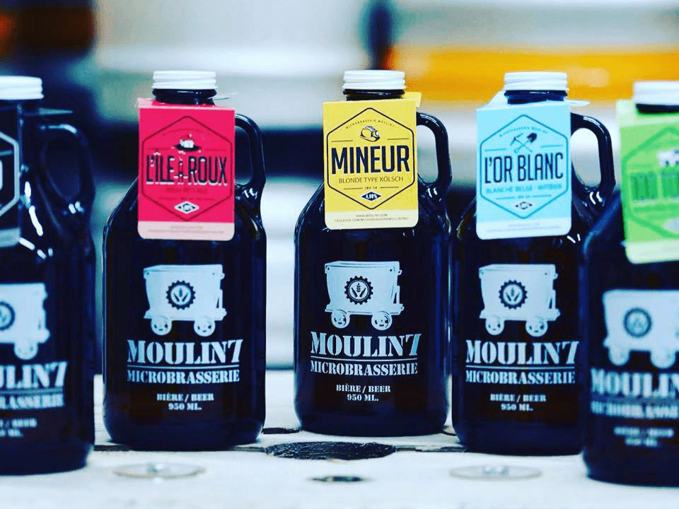 Microbrasserie Le Moulin 7 Asbestos Bières Artisanales