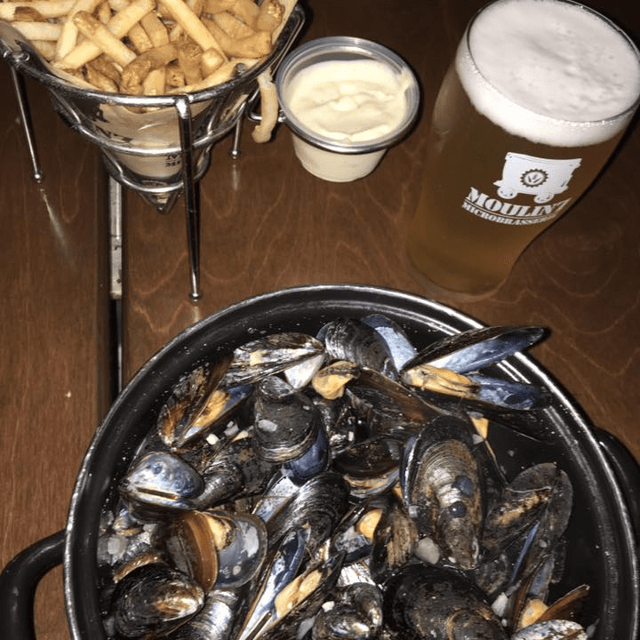 Microbrasserie Le Moulin 7 Asbestos Moules