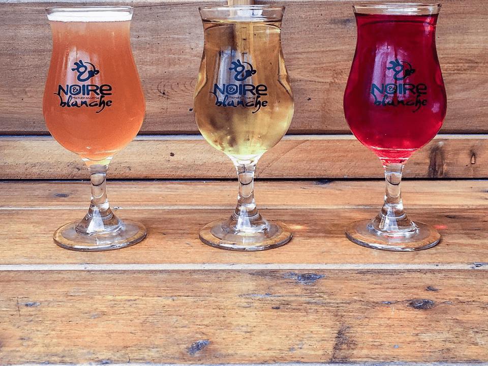 Microbrasserie Noir et Blanche St-Eustache Bières artisanales
