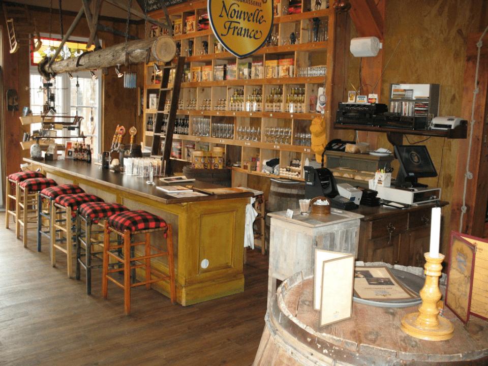 Microbrewery Nouvelle-France Saint-Alexis-des-Monts
