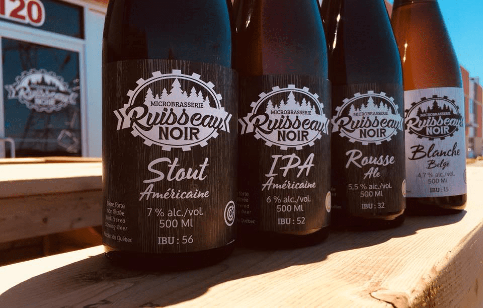 Microbrasserie Ruisseau Noir Terrebonne Bières artisanales