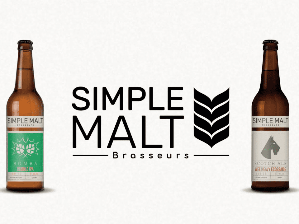 Microbrewery Simple Malt Brasseurs Medley Simple Malt Montréal
