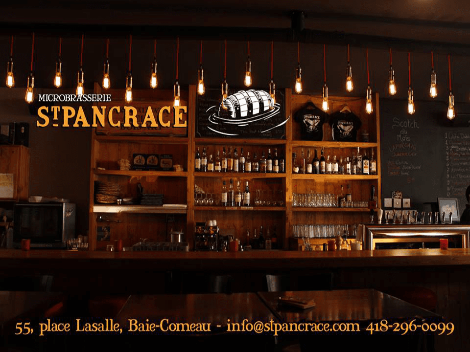 Microbrewery St-Pancrace Baie-Comeau Craft beer