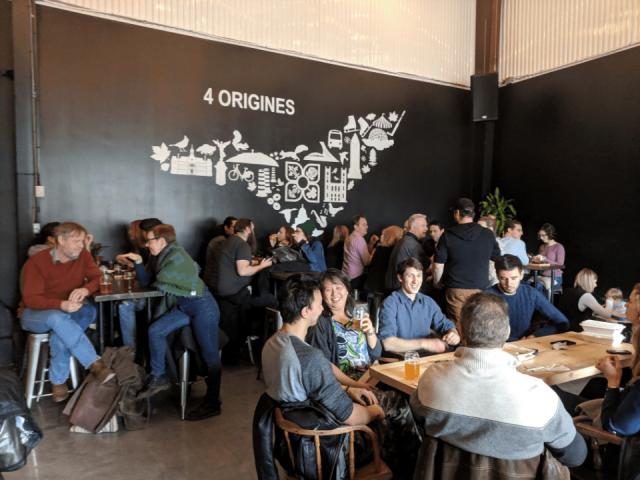Microbrasserie 4 Origines Montréal Bières artisanales